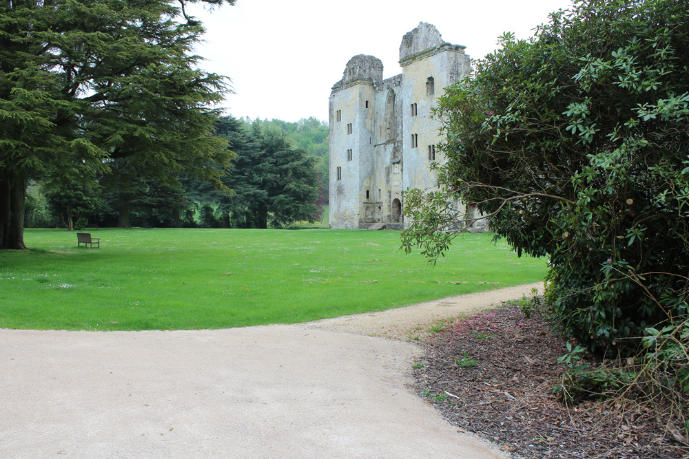Ghosts of Wardour Castle, near Tisbury