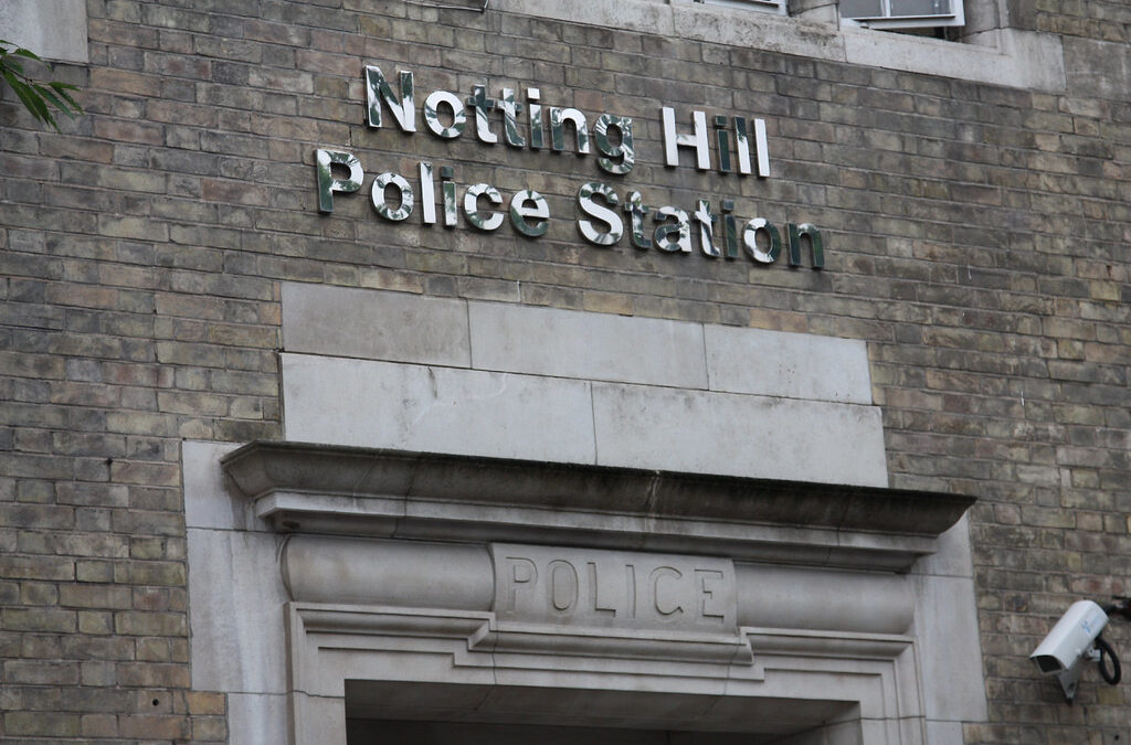 Notting Hill Police Station Ghost- The Sugar Bowl Incident