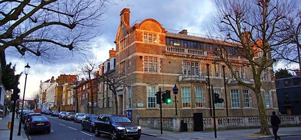 notting hill police station ghost